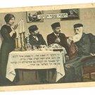 JEWISH SHANA TOVA SHABBAT SCENE WILLIAMSBURG PC 1920'S