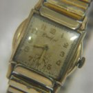 ANTIQUE CRAWFORD 10K GOLD FILLED 17 JEWELS SWISS WATCH