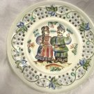 COSSACKS ~ Russian Artisan Porcelain Plate, signed