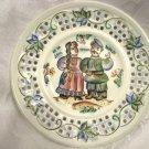 COSSACKS ~ Russian Artisan Porcelain Plate, signed