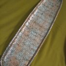 BEAUTIFUL ENGRAVED CURLY PATTERN ISRAEL BRASS TRAY