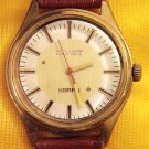 1982 POLJOT RUSSIAN GOLD PLATED QUARTZ WATCH