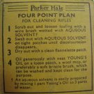 "ANTIQUE PARKER-HALE FLANNELETTE PATCHES FOR .22"" CAL"
