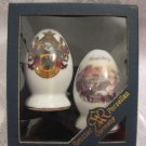 HEIDELBERG Salt & Pepper Shakers Reutter Porzellan, Germany Boxed