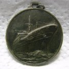 ITALY NAVIGATION CRUISE SHIP COLUMBUS SILVER MEDAL