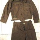 Very first IDF Israel ZAHAL 1951 Wool pants & jacket uniform, size 46