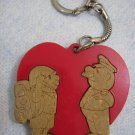 """To IDF Recruit with Love"" Vintage keychain ISRAEL"