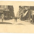 ALEXANDRIA STREET from EGYPT to PALESTINE PC 1921