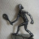 TENNIS PLAYER Sterling Silver Miniature Israel