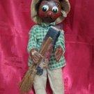 Vintage Mexican Gaucho Yardman Handmade Doll