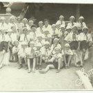 VINTAGE SOVIET ARTEK PIONEER CHILDREN CAMP SQUAD 8 UKRAINE PHOTO