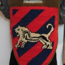 THE JUDEA LION Central Command Military Police IDF ZAHAL Tag Handmade Rug Israel
