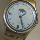 SWATCH MOON PHASE DATE WATCH 1991