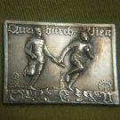1929 QUER DURCH WIEN Sport Brass Medal Austria