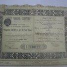 Egyptian Credit Foncier 1903 Obligation 250 francs