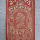 25 cents U.S.Postage NEWSPAPER AND PERIODICALS 1863