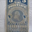 5 cents U.S.Postage NEWSPAPER AND PERIODICALS 1863