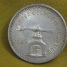 1980 Casa De Moneda Mexico Scale Onza 33.625 g Silver