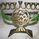 BEAUTIFUL JERUSALEM HANUKKAH MENORAH HEN HOLON ISRAEL