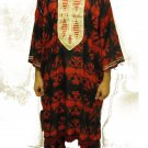GENUINE AFRICAN CLOTHING 3PCS MEN DASHIKI CHURCH WEDDING SUIT ~ RED/BLACK/GOLD