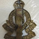 WWII BRITAIN ROYAL CORPS ARMY ORDNANCE CAP BADGE