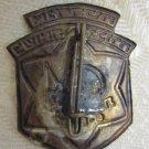 1967 OPENING OF HOLOCAUST MUSEUM in NAZARETH ILLIT ISRAEL MEMORIAL PIN BADGE