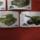 """LOT of 10 RARE """"ARSENAL"""" MILITARY RUSSIAN ARMOR CHEWING GUM WRAPPERS + EXTRAS"""