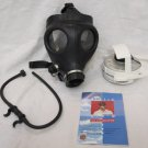 2008 ISRAELI CIVILIAN GAS MASK WITH NBC NATO FILTER AND DRINKING HYDRATION TUBE