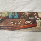 VINTAGE HEBREW GO BOARD GAME ORIGINAL BOX WITH AMKOR COMPANY LOGO ISRAEL