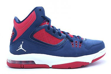 2184443047cd  512234-401  Mens Air Jordan Flight 23 RST Obsidian W-Gym Red Basketball