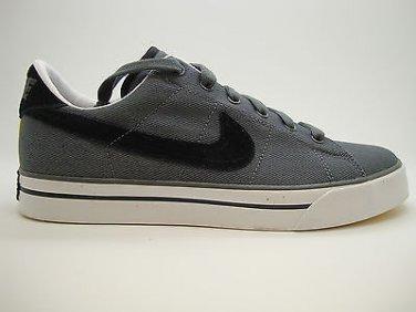 8aa1076da9911b  417784-027  Mens Nike Sweet Classic Canvas Dark Grey Black White Yellow