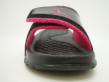 84fb930f3b8 [429531-002] Pre-School Little Kids Air Jordan Hydro 2 Black Vivid Pink