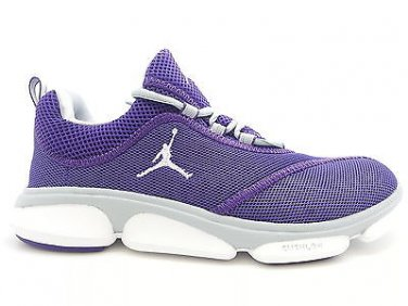 [487117-503] Mens Air Jordan RCVR Club Purple White Mesh Training Gym  Sneakers
