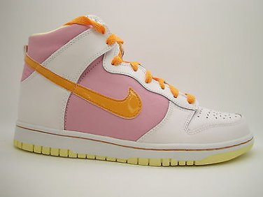 buy online 0f337 7ea35 316604-181] Girls Youth Nike Dunk High White Light Metallic ...