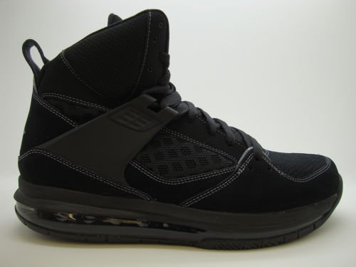 separation shoes 37997 14358  524866-015  Mens Air Jordan Flight 45 High Black Dark Grey Basketball Shoes