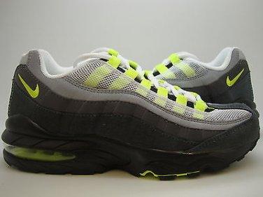 Nike Air Max '95 GS 307565 071 NT GREYNEON YELLOW DRK