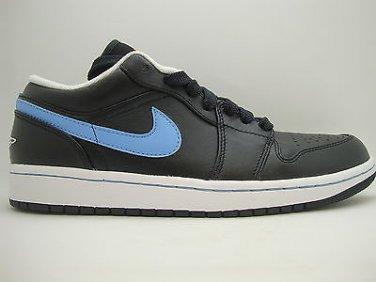 c1efe5d60006a5  338145-005  Mens Air Jordan 1 Phat Low Black University Blue TX White  Sneakers