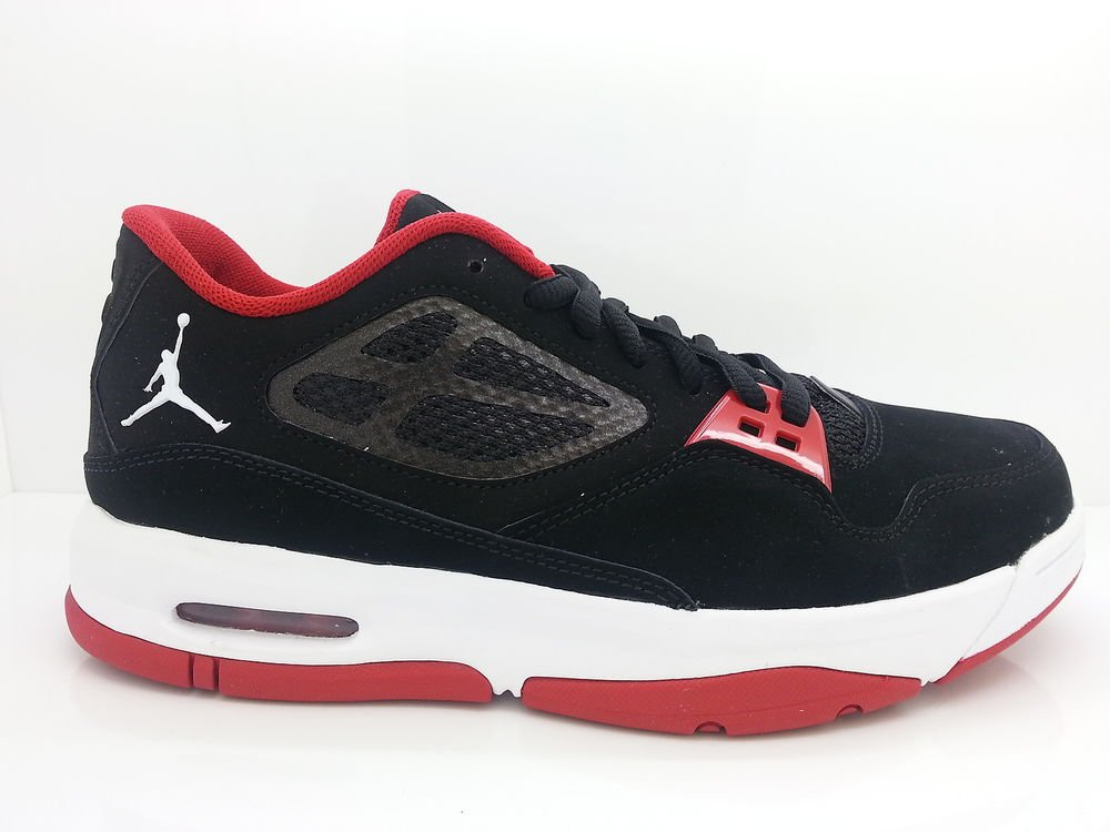 free shipping 6ecbe be83f  525512-001  Mens Air Jordan Flight 23 RST Low Black Gym Red Training  Sneakers
