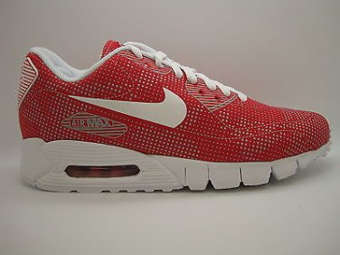 344081 600] Mens Nike Air Max 90 Current Moire Sport Red