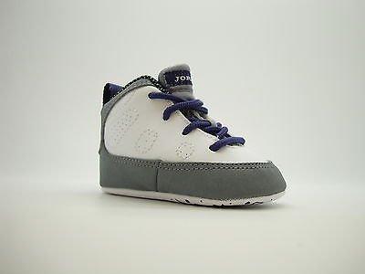 41673ff0f96d4f 401843 109 infants baby crib air jordan 9 retro white imperial purple cool  gry