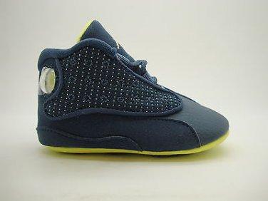 new product a3881 a1b84 552664-405] Infants Baby Crib Air Jordan 13 Retro Squadron ...