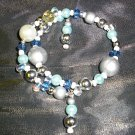 Double Dangle-End Sea Bead Memory Bracelet
