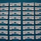 32 QTY: VERTICAL BLIND SLAT  REPAIR CLIPS (curved/ivory) VANE SAVER:EASY DIY JOB