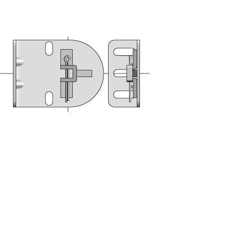 1 QTY: Somfy LT Motor Bracket