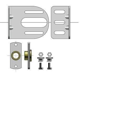 1 QTY: Somfy FTS Idler Bracket 14mm ID