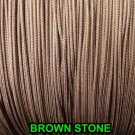 20/40 FEET:1.8mm BROWNSTONE LIFT CORD for ROMAN/PLEATED shades &HORIZONTAL blind