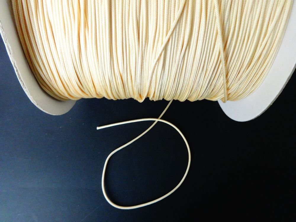 100 FEET 1.8mm Citrus Gold  LIFT CORD for Blinds , Shades, Crafts,and More!.