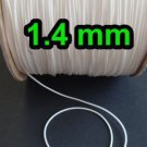 10 YARDS : 1.4 mm Professional Grade Braided Lift Cord, WHITE
