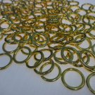 "50 QTY:  1/2"" Heavy Duty BRASS CORD GUIDE RINGS (SEW-ON)  for Roman Shades"