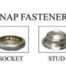 K4713-16-C C.S. OSBORNE & CO. SNAPS FASTENERS PK/100 - 5/8 BRASS copper black...